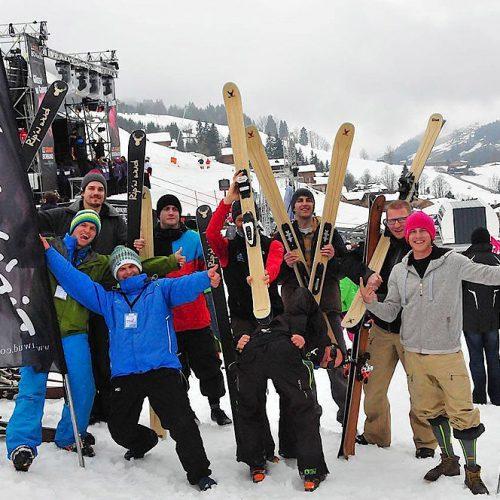 ripnwud handmade wood core ski19