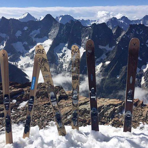ripnwud handmade wood core ski3