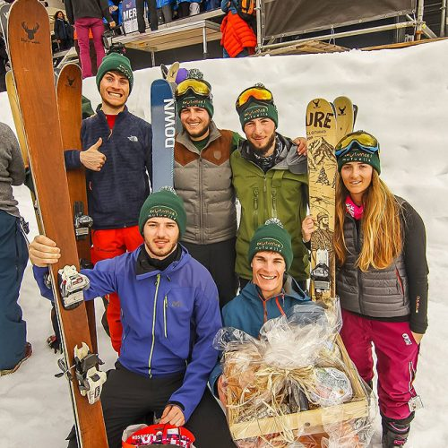 ripnwud handmade wood core ski7