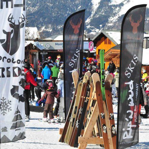 Ripnwud skis montalbert